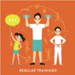 тренировка семьёй